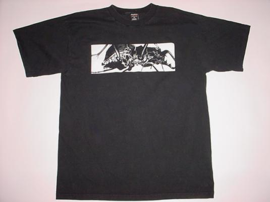 Vintage Massive Attack T-Shirt Mezzanine 1998 XL