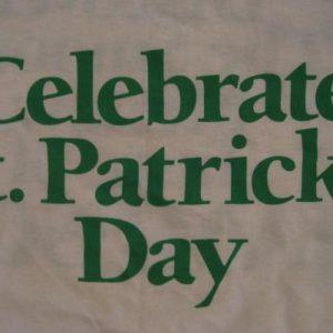 Vintage St. Patrick's Day Jameson Irish Whiskey T-Shirt LM