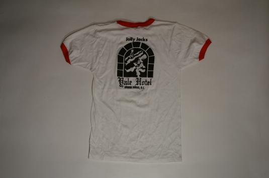 Vintage Borsch Like Sex T-Shirt Jolly Jacks Yale Hotel BC XS
