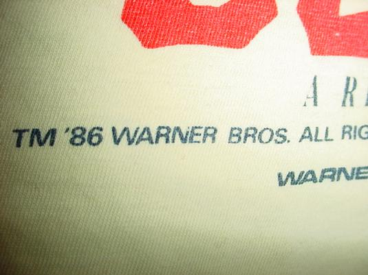 Vintage The Goonies T-Shirt Steven Spielberg 1986 S