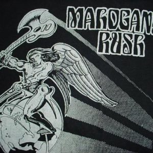 Vintage Mahogany Rush T-Shirt M