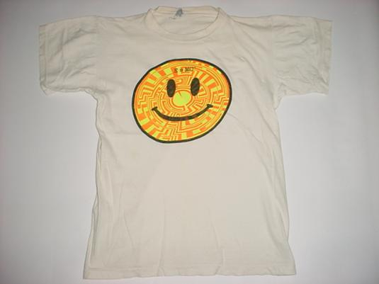 Vintage Acid House E=MC2 T-Shirt Rave M/S