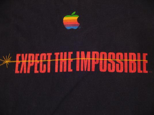Vintage Mission Impossible Tom Cruise Apple Computer T-Shirt