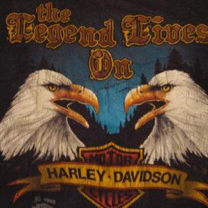 Vintage Harley Davidson Legend Keener's Visalia T-Shirt M/S