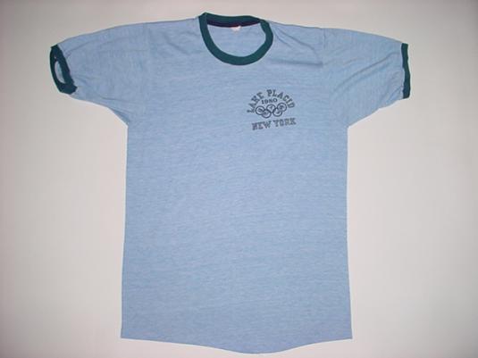 Vintage Lake Placid New York T-Shirt Winter Olympics S