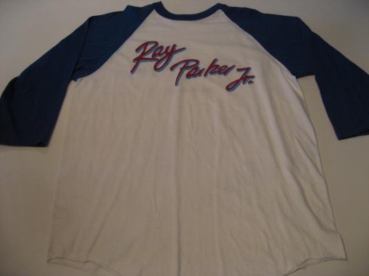 Vintage Ray Parker Jr T-Shirt Jersey World Tour 1982 M/L