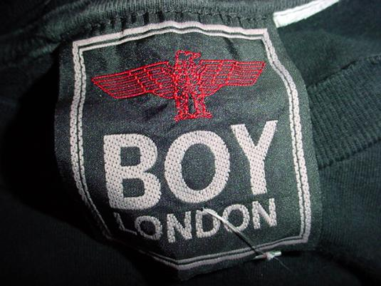 Vintage Boy London T-Shirt Eagle M/L