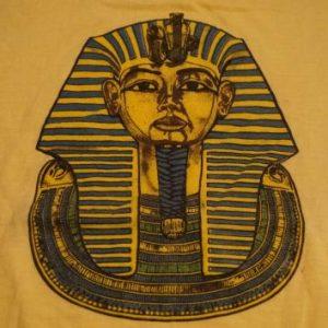 Vintage King Tut Tutankhamun T-Shirt 1970s M/S