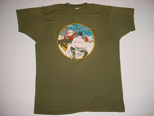 Vintage Apocalypse Now T-Shirt Napalm in Morning M/L