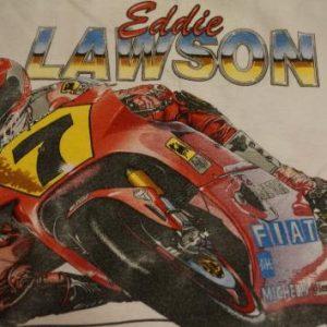 Vintage Eddie Lawson Grand Prix Motorcycle T-Shirt M/S