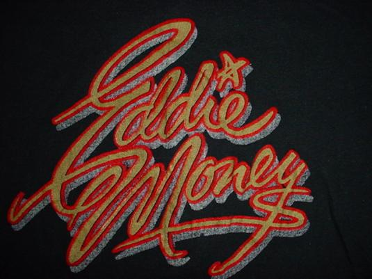 Vintage Eddie Money T-Shirt M