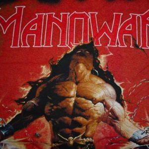 Vintage Manowar Louder Than Hell T-Shirt 1996 L