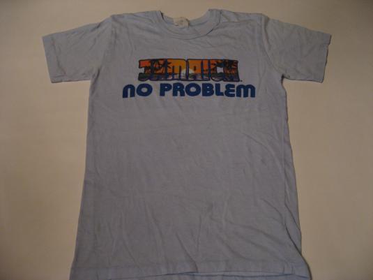 Vintage Jamaica No Problem T-Shirt Ya Mon S