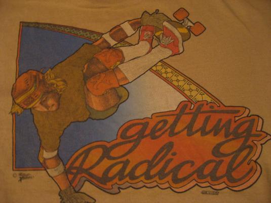 Vintage Skateboard Radical T-Shirt The Shirt Xplosion M/L