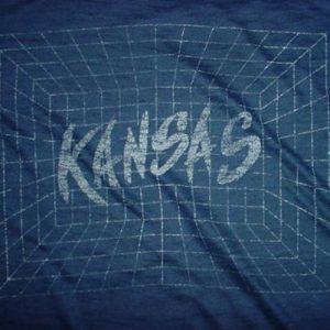 Vintage Kansas T-Shirt See-Thru 1980s M/L