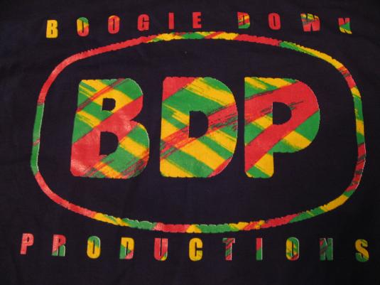 Vintage Boogie Down Productions BDP Ghetto Music '89 T-Shirt