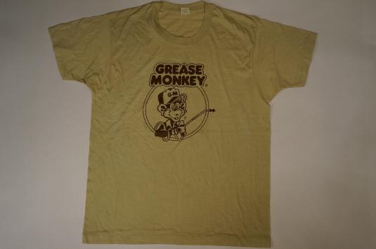 Vintage GREASE MONKEY T-Shirt Mechanics L/M