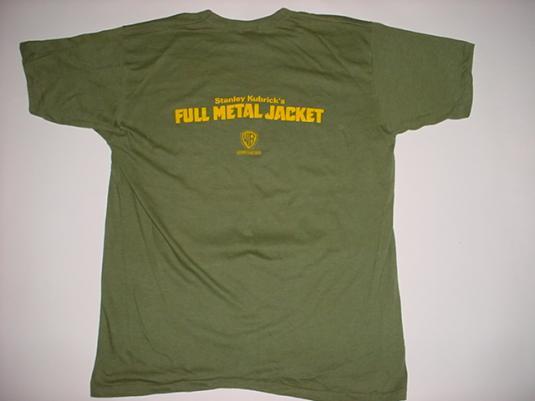 Vintage Full Metal Jacket T-Shirt Stanley Kubrick L/M