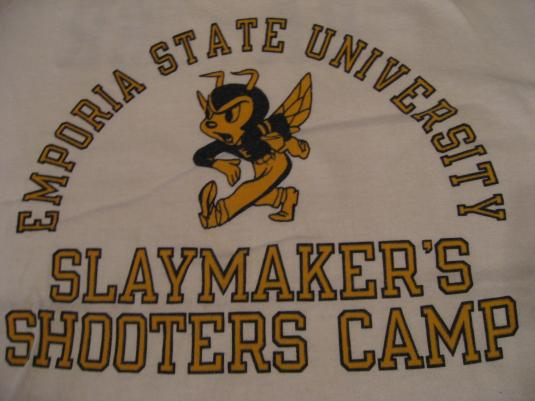Vintage Emporia State Hornets Slaymakers Camp Heather TShirt