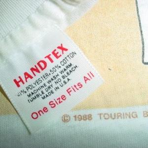 Vintage Robert Plant T-Shirt Led Zeppelin Non Stop Go XL