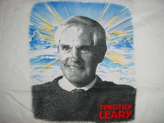 Vintage Timothy Leary T-Shirt Madness Tour LSD ACID M/L