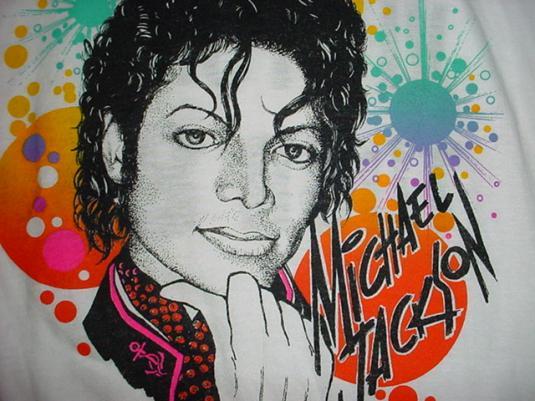 Vintage Michael Jackson T-Shirt Miami Victory Tour 1984 M/L