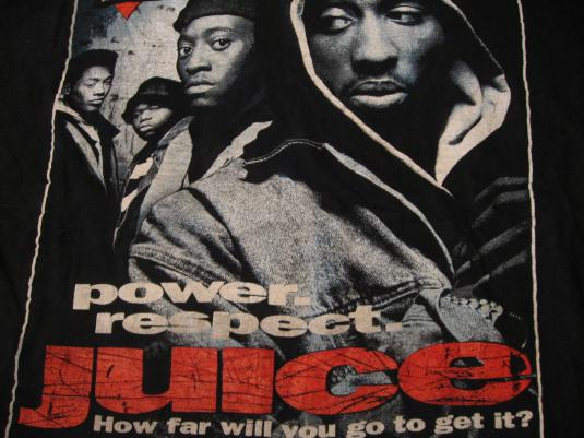 Vintage Juice Tupac Shakur Movie T-Shirt XL/L