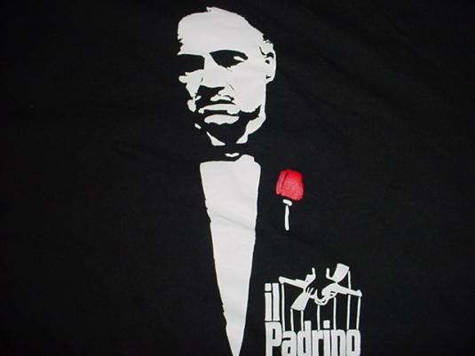 Vintage Foreign The Godfather T-Shirt Il Padrino 1980s M/S