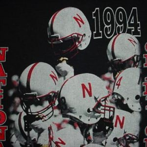 Vintage Nebraska National Champions N T-Shirt XL