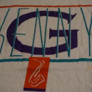 Vintage Kenny G T-Shirt 1987 Saxophone M/L