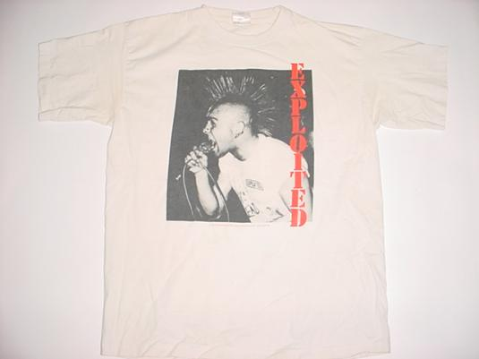 Vintage The Exploited T-Shirt 1990s XL/L