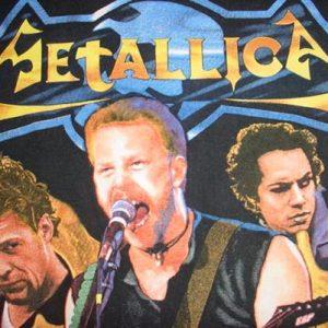 Vintage Metallica Escape Donington Park Therapy? Slayer XL
