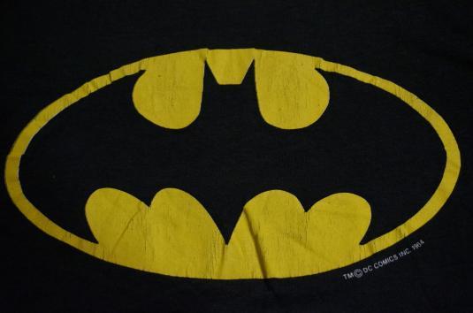 Vintage BATMAN T-Shirt DC COMICS M/S