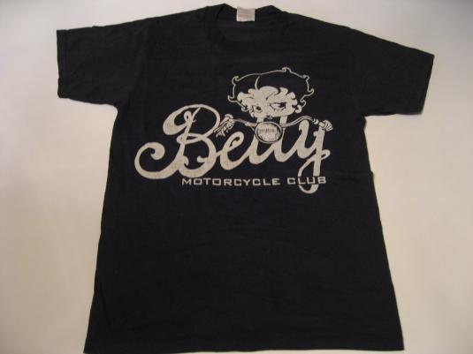 Vintage Betty Boop Motorcycle Club T-Shirt M