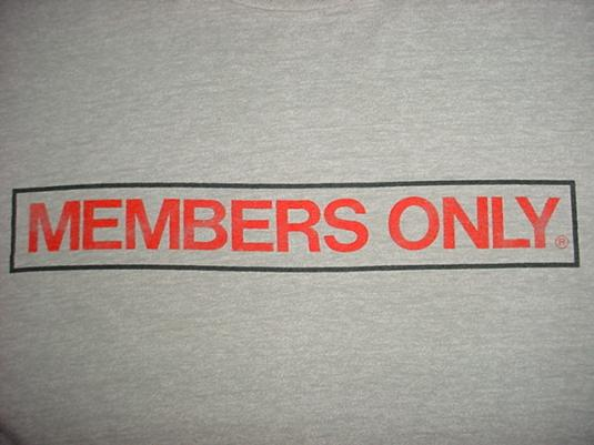 Vintage Members Only T-Shirt M