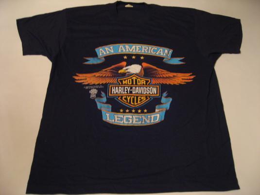 Vintage Harley Davidson American Legend T-Shirt L