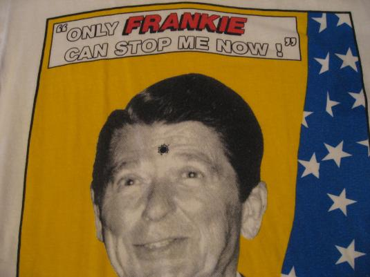 Vintage Frankie Goes to Hollywood T-Shirt Ronal Reagan M/S