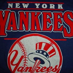 Vintage New York Yankees T-Shirt 1980s S