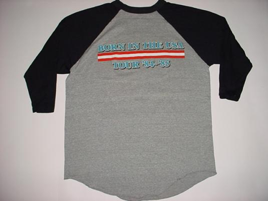 Vintage Bruce Springsteen Jersey T-Shirt Born in the USA M/L