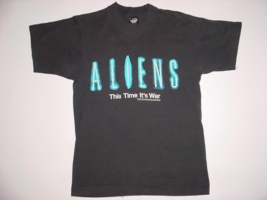 Vintage Aliens T-Shirt James Cameron M/S