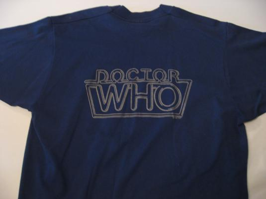 Vintage Doctor Who T-Shirt BBC TV M