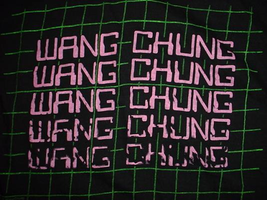 Vintage Wang Chung T-Shirt Dance Hall Days 1984 M