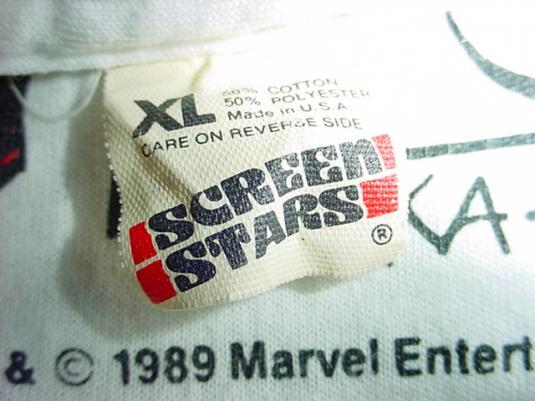 Vintage Wolverine T-Shirt Logan Marvel X-Men Alpha Flight L
