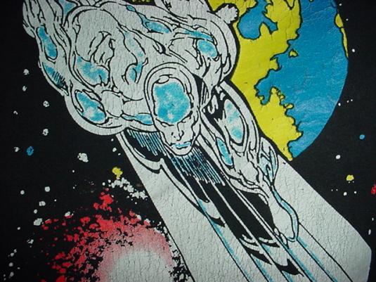 Vintage Silver Surfer T-Shirt Marvel Comics 1995 XL