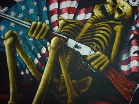 Vintage Guns Charlton Heston NRA T-Shirt M/S