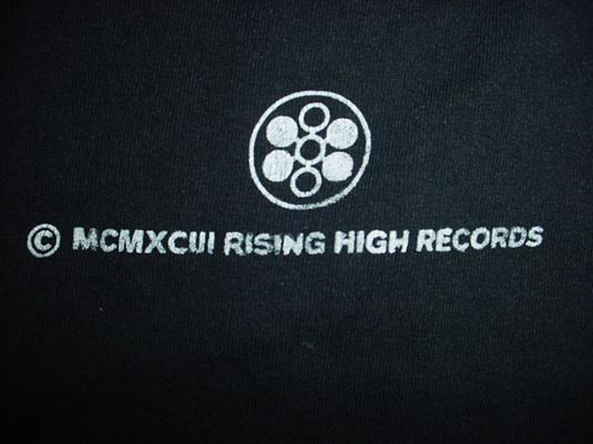 Vintage Faceless Techno Bollocks T-Shirt Rising High Records