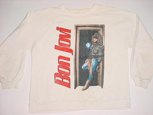 Vintage Bon Jovi Sweatshirt Slippery M/S