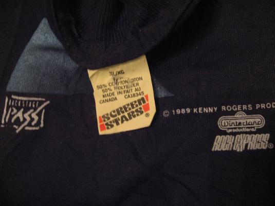 Vintage Kenny Rogers T-Shirt 1989 L/XL