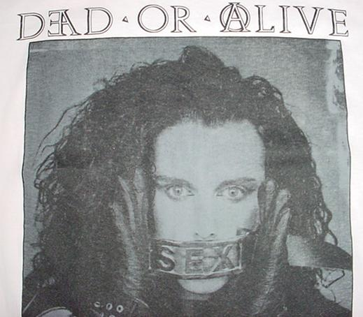 Vintage Dead or Alive T-Shirt Pete Burns DOA L