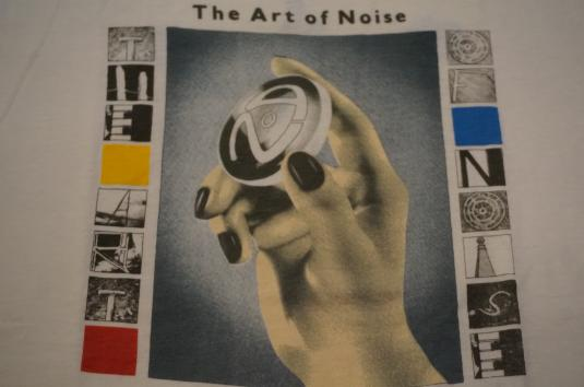 Vintage 1986 The Art of Noise T-Shirt In Visible Silence L